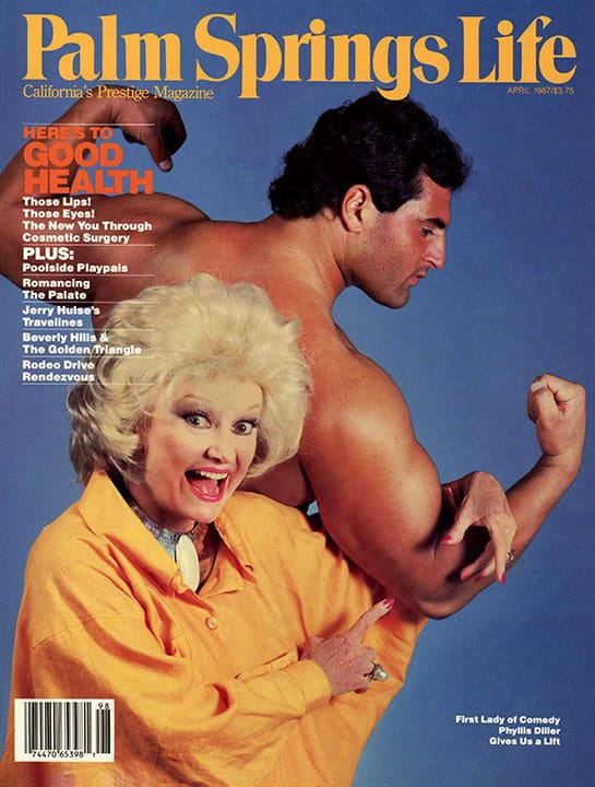 Palm Springs Life magazine - April 1987