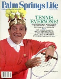 Palm Springs Life magazine - February 1987