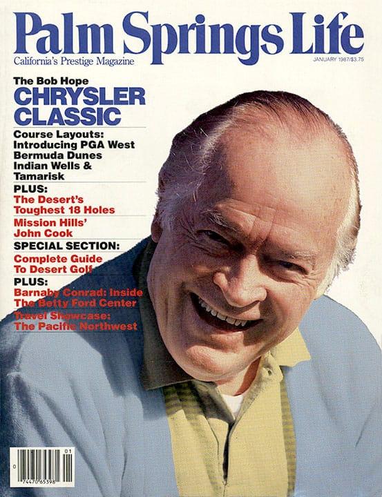 Palm Springs Life magazine - January 1987