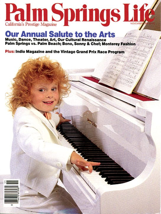 Palm Springs Life magazine - November 1986