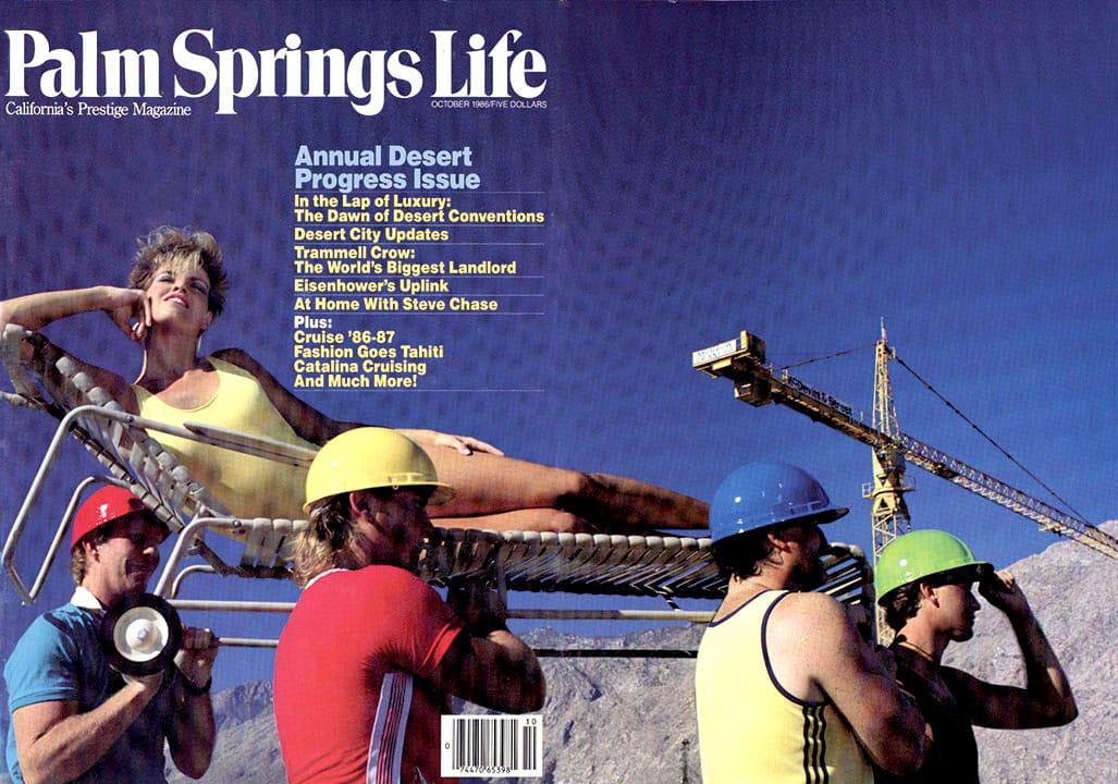 Palm Springs Life magazine - October 1986