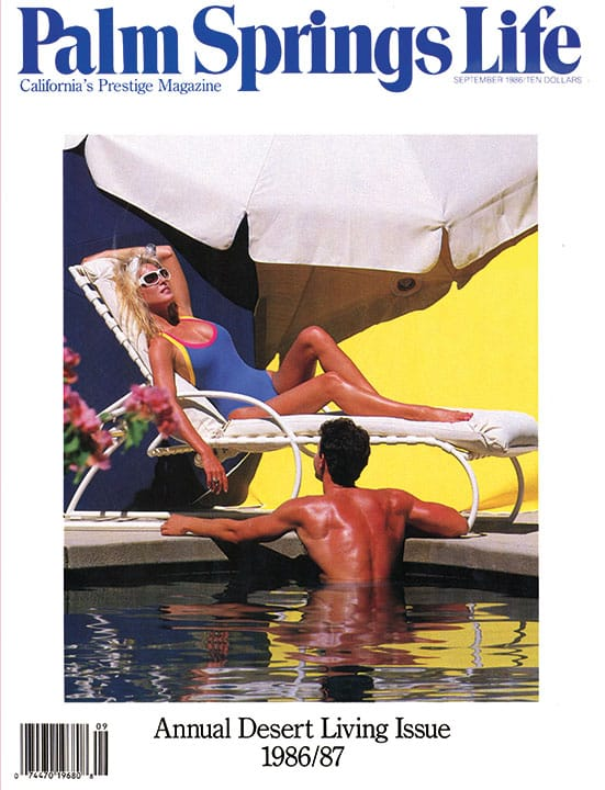 Palm Springs Life magazine - September 1986