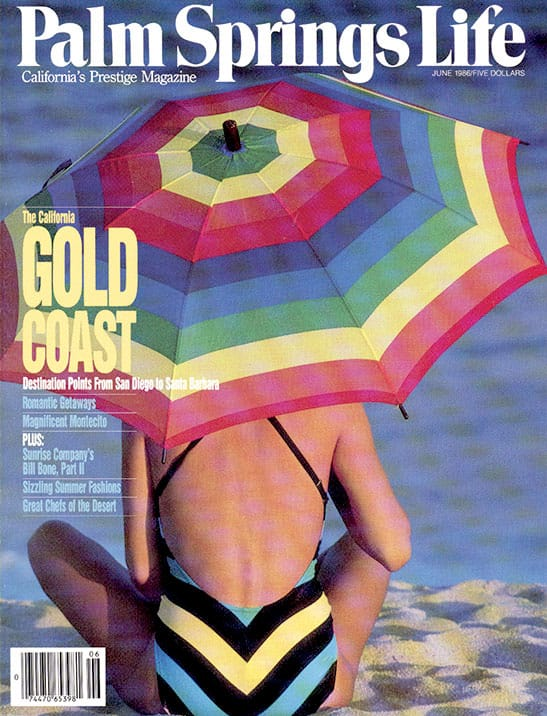 Palm Springs Life magazine - June 1986