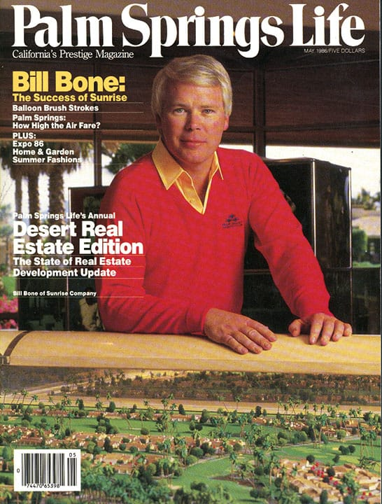 Palm Springs Life magazine - May 1986