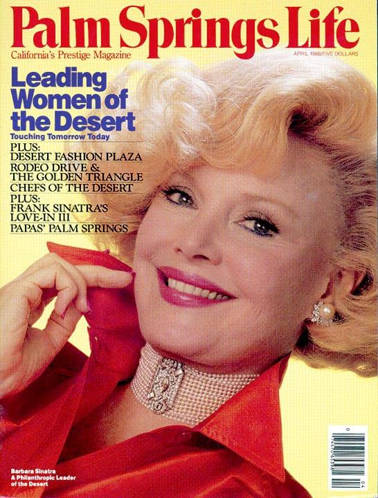Palm Springs Life magazine - April 1986