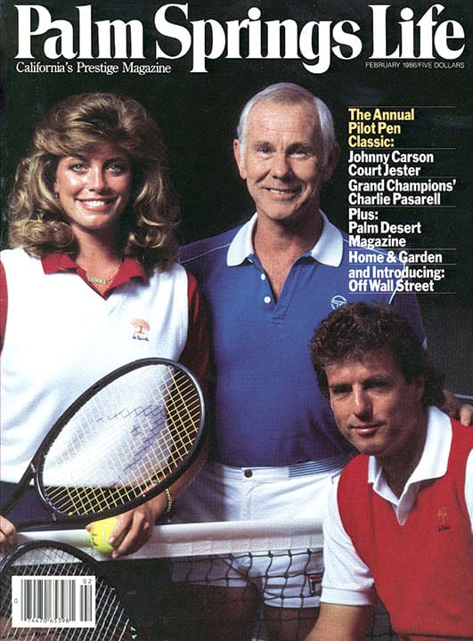 Palm Springs Life magazine - February 1986