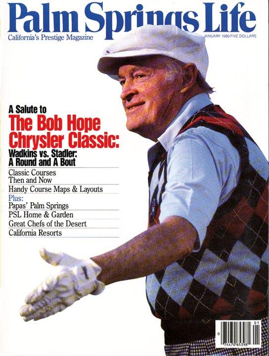 Palm Springs Life magazine - January 1986