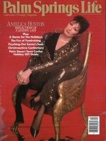 Palm Springs Life magazine - December 1985