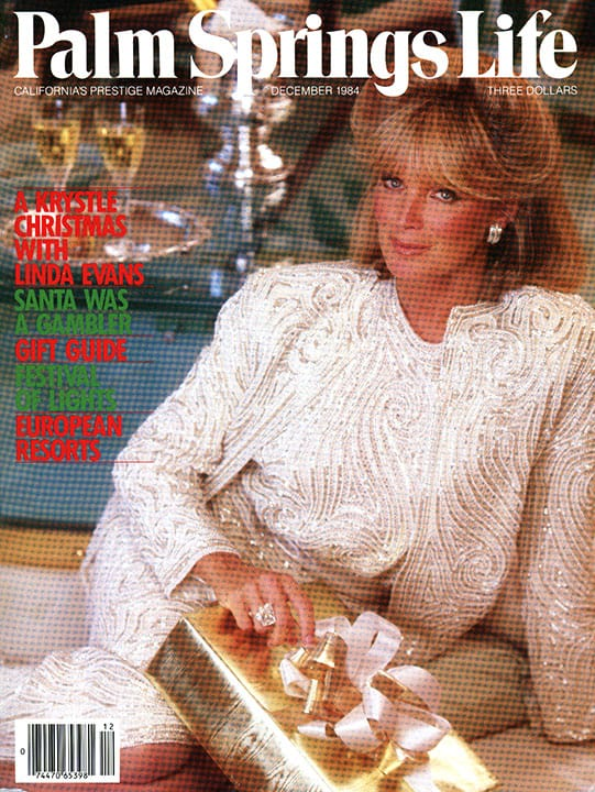 Palm Springs Life magazine - December 1984