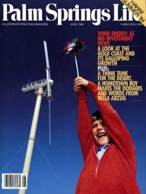 Palm Springs Life magazine - June 1984