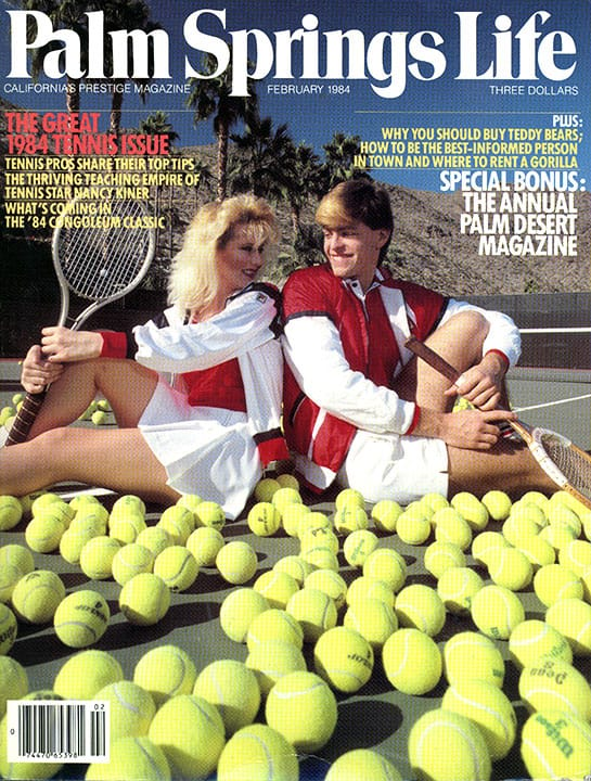 Palm Springs Life magazine - February 1984