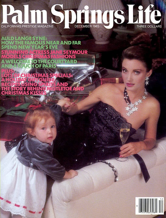 Palm Springs Life magazine - December 1983