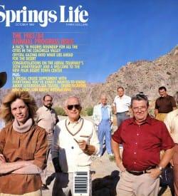 Palm Springs Life magazine - October 1983