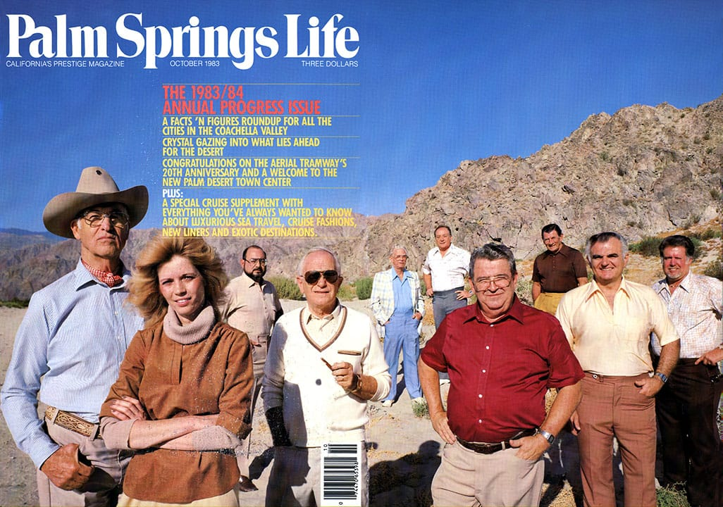 Palm Springs Life magazine - October 1983