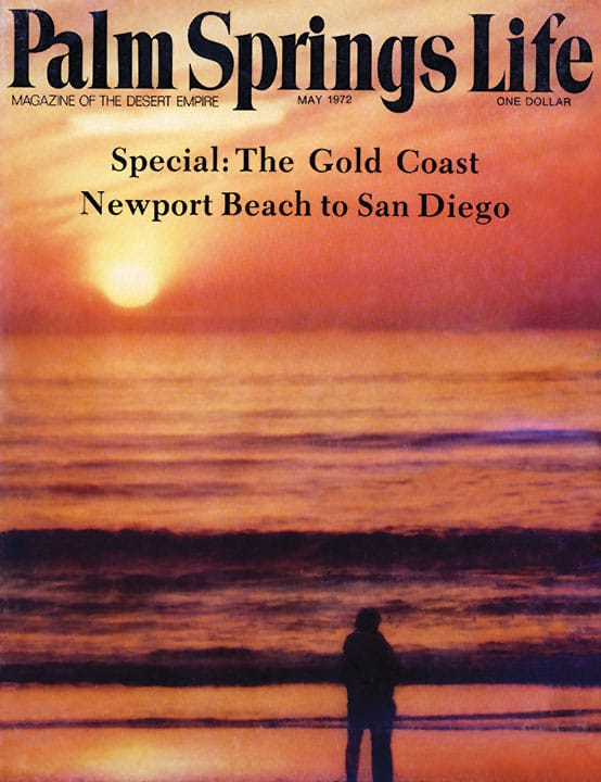 Palm Springs Life magazine - May 1972
