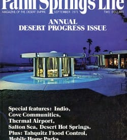 Palm Springs Life magazine - September 1971