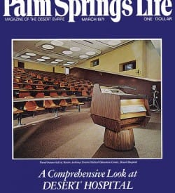 Palm Springs Life magazine - March 1971