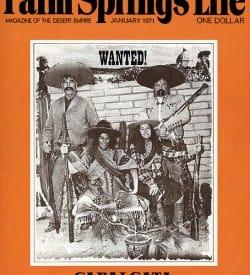 Palm Springs Life magazine - January 1971