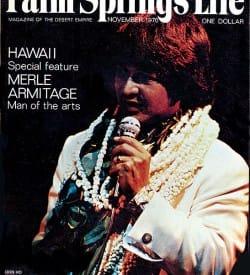 Palm Springs Life magazine - November 1970