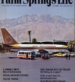 Palm Springs Life magazine - October 1970