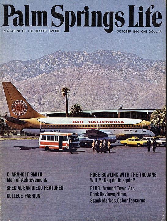Palm Springs Life magazine - October 1970