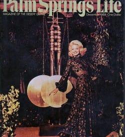 Palm Springs Life magazine - December 1969