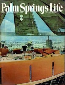 Palm Springs Life magazine - October 1969