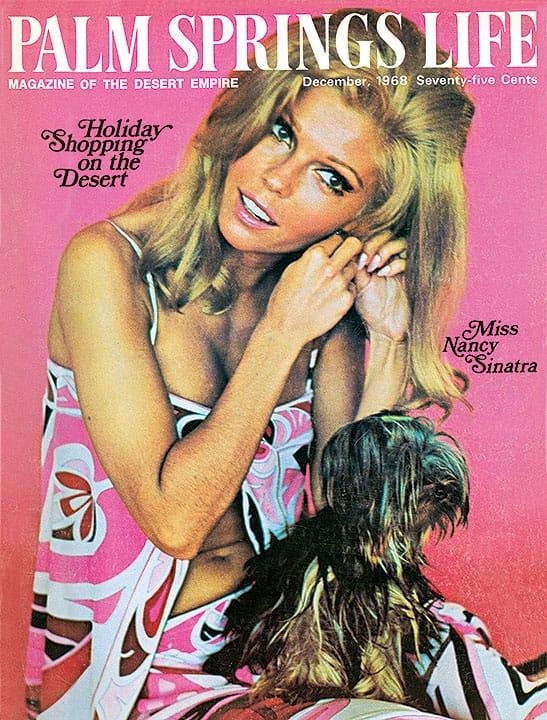 Palm Springs Life magazine - December 1968