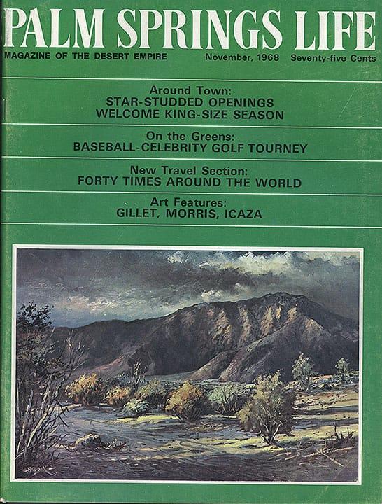 Palm Springs Life magazine - November 1968