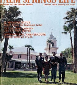 Palm Springs Life magazine - October 1968