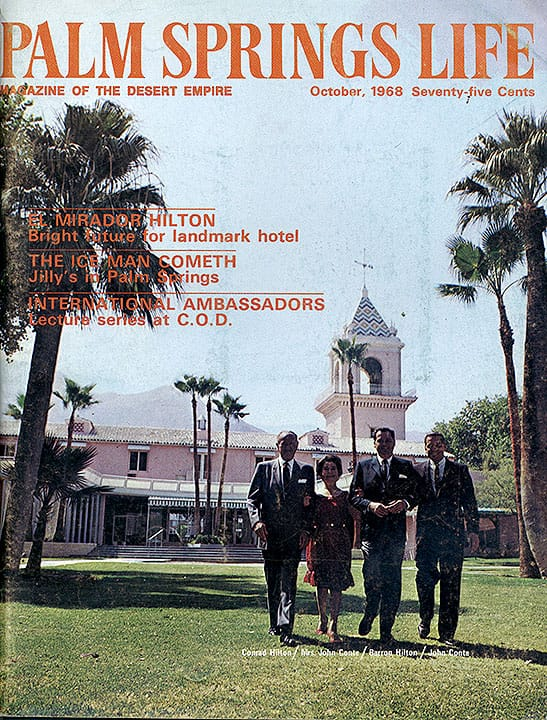 Palm Springs Life magazine - October 1968
