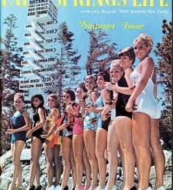 Palm Springs Life magazine - June-July-August 1968