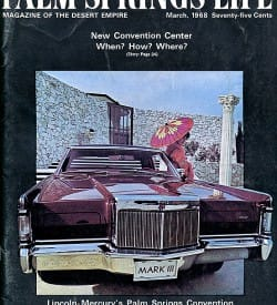 Palm Springs Life magazine - March 1968