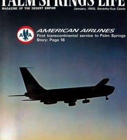 Palm Springs Life magazine - January 1968