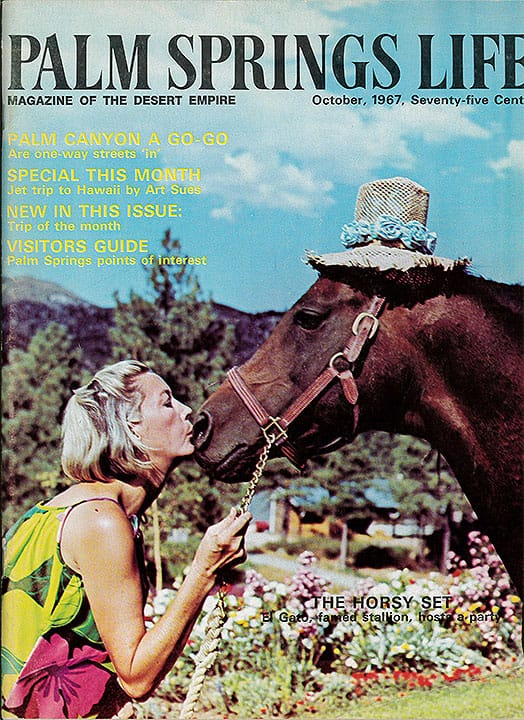 Palm Springs Life magazine - October 1967