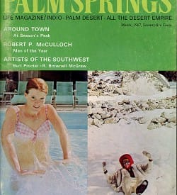 Palm Springs Life magazine - March 1967