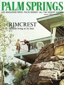 Palm Springs Life magazine - January 1967