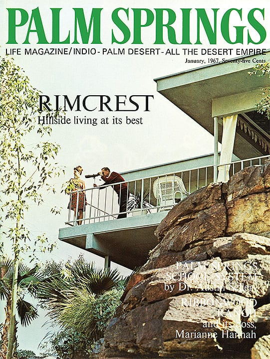 Palm Springs Life magazine - January 1967