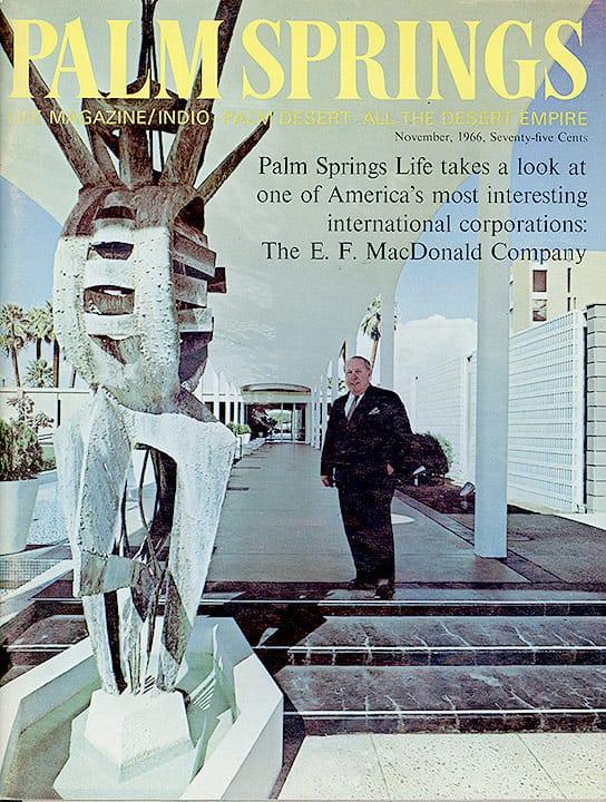 Palm Springs Life magazine - November 1966