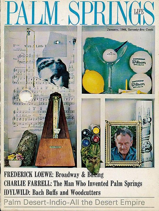 Palm Springs Life magazine - January 1966