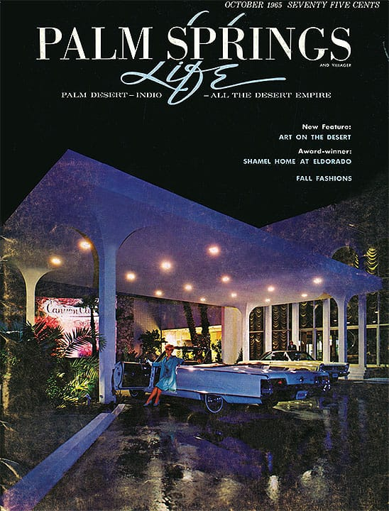 Palm Springs Life magazine - October 1965