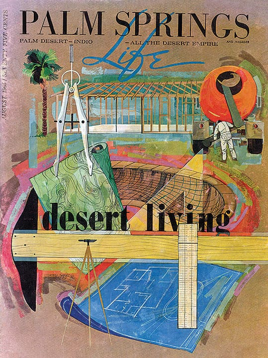 Palm Springs Life magazine - August 1965