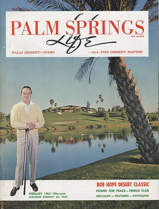 Palm Springs Life magazine - February 1965