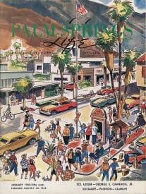Palm Springs Life magazine - January 1965