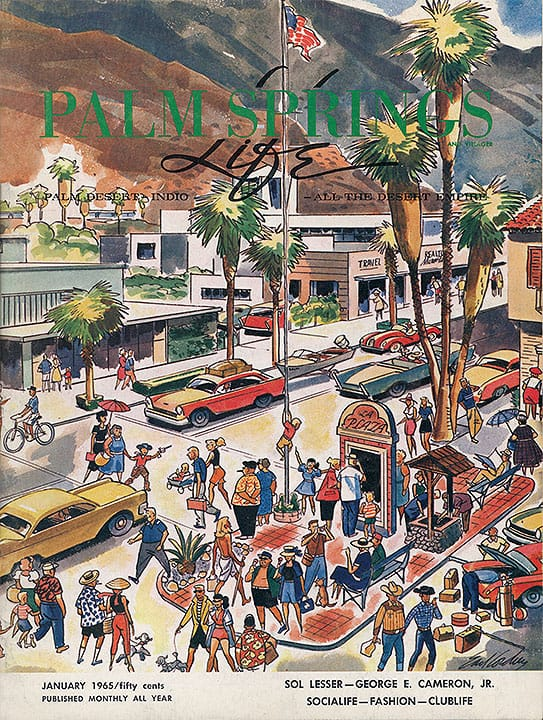 Palm Springs Life magazine - January 1965