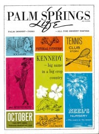 Palm Springs Life magazine - October 1964