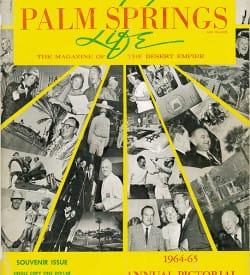 Palm Springs Life magazine - September 1964