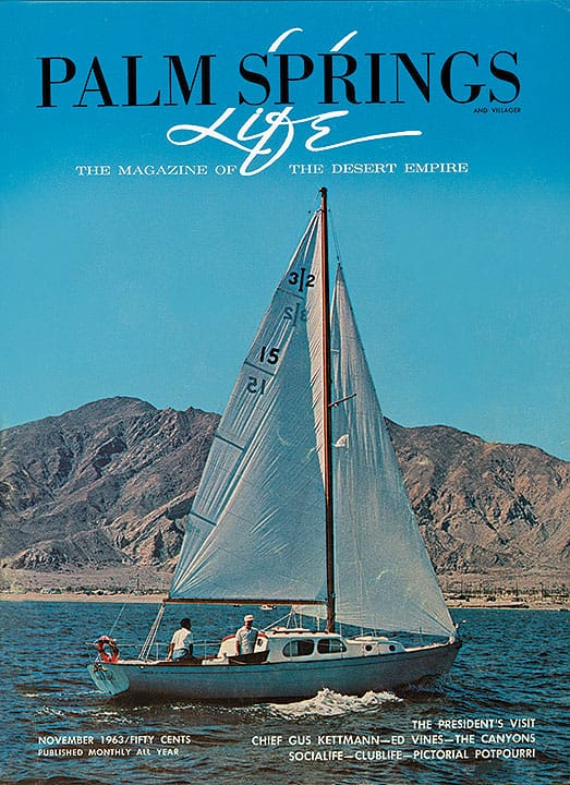 Palm Springs Life magazine - November 1963