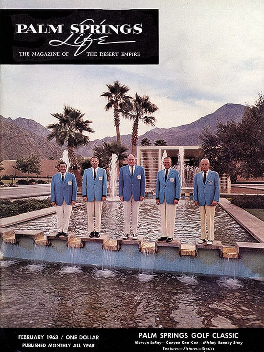 Palm Springs Life magazine - February 1963