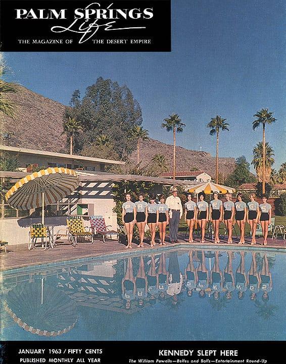 Palm Springs Life magazine - January 1963